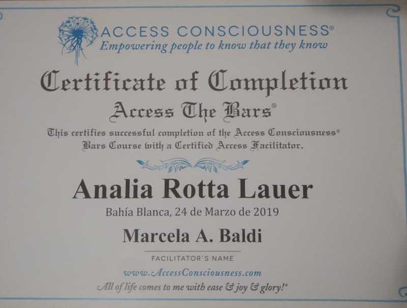 2da Clase de Barras Access Consciusness